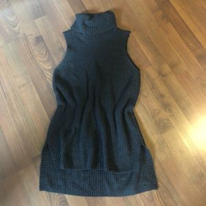 Merona sleeveless turtleneck tunic sweater